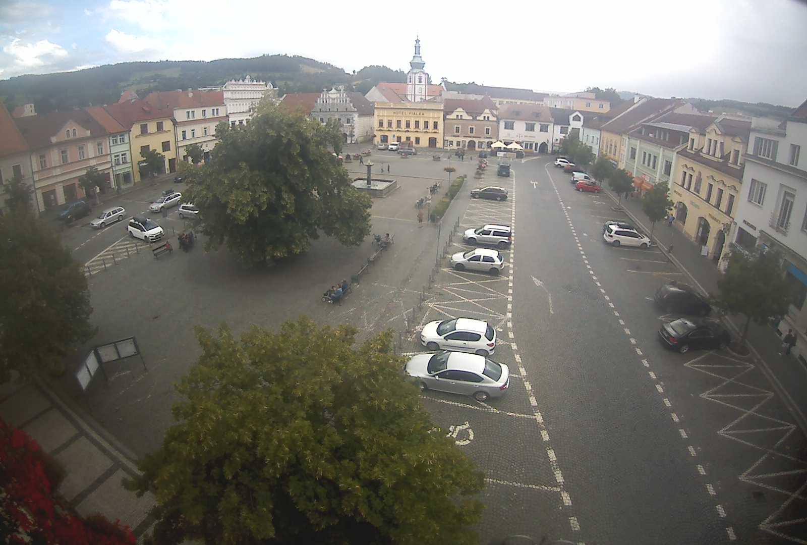 Webkamera Sušice nad Otavou