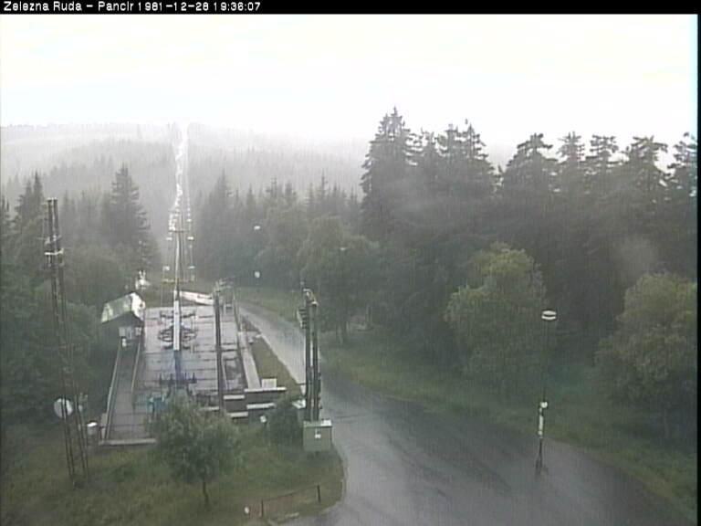 Webcam Ski Resort Zelezna Ruda Pancir - Bohemian Forest