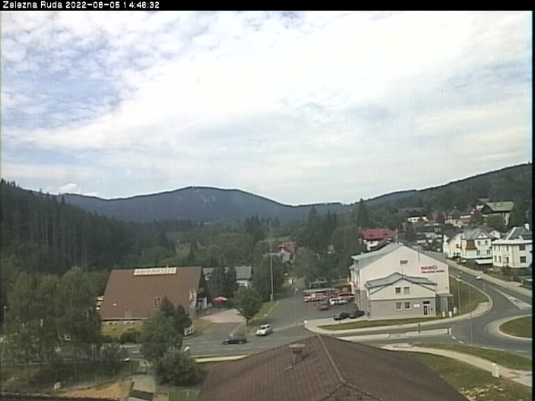 Webcam Ski Resort Zelezna Ruda Ort - Bohemian Forest