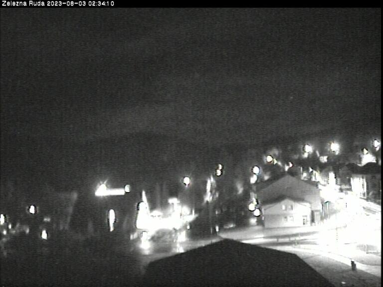 Webcam Skigebiet Zelezna Ruda Ort - B�hmer Wald