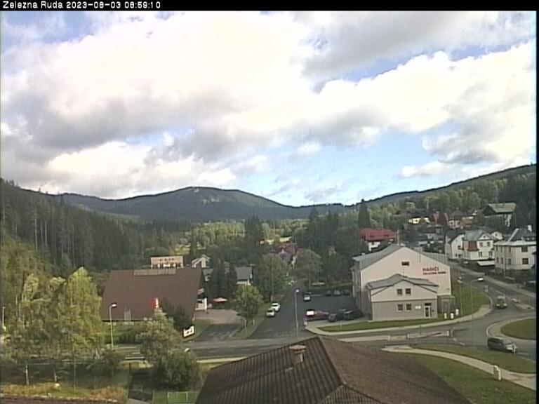 Webcam Ski Resort Zelezna Ruda Ort - Bohemian Forest