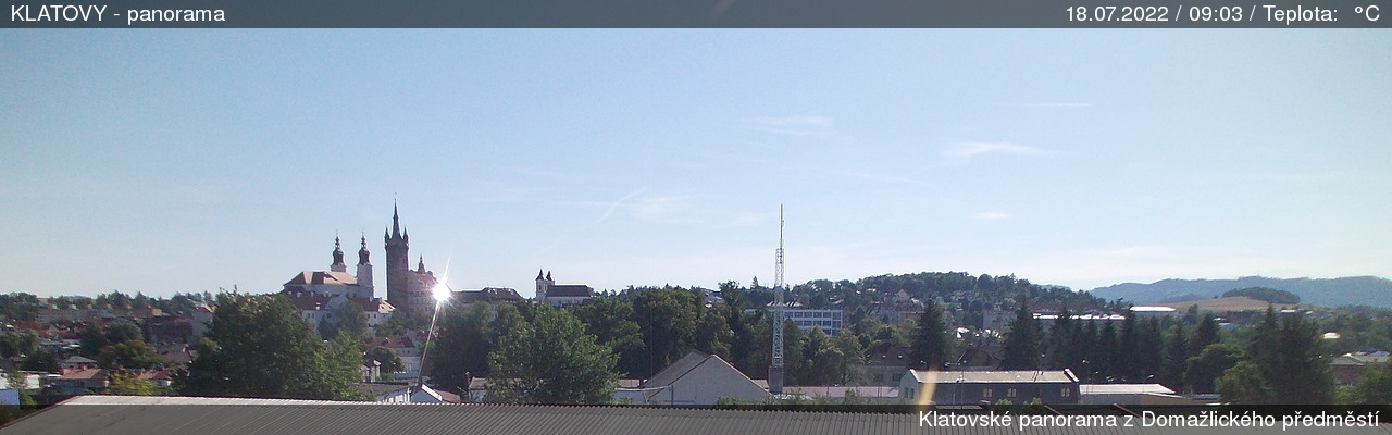 Webcam Klatovy