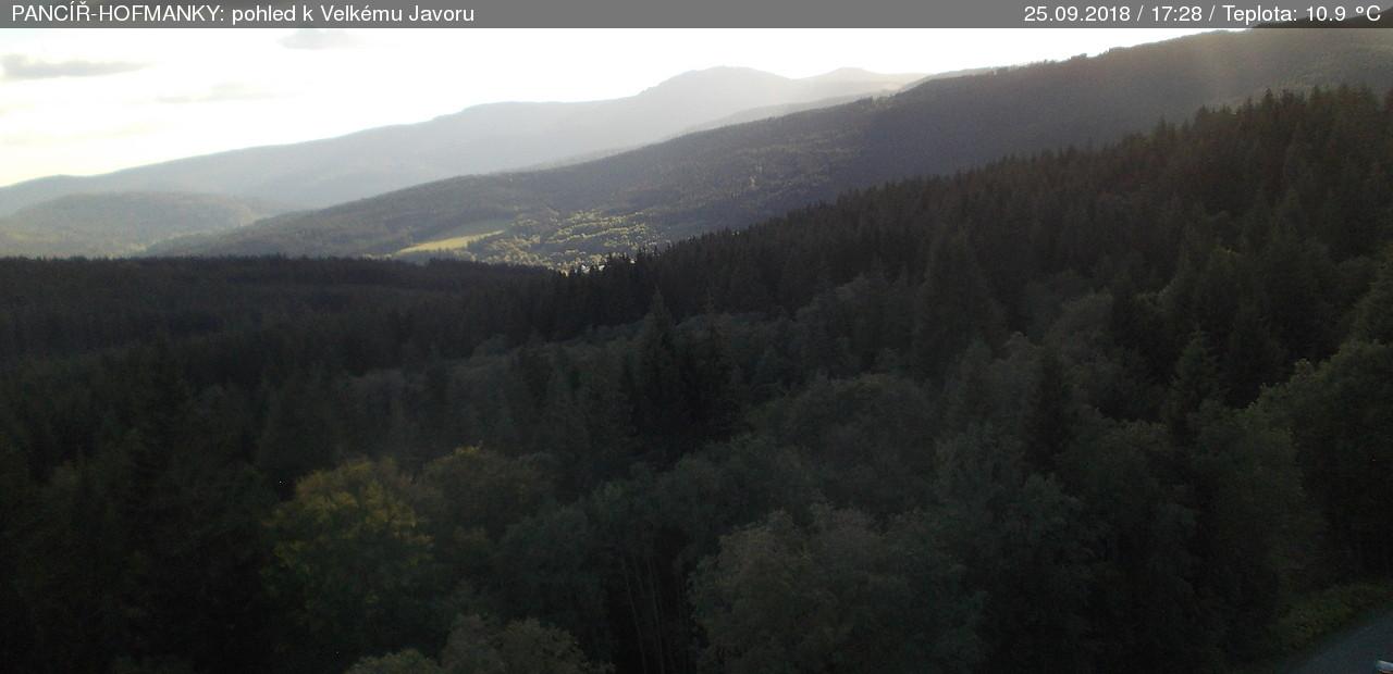 Webcam Skigebied Zelezna Ruda Pancir - Bohemer Woud