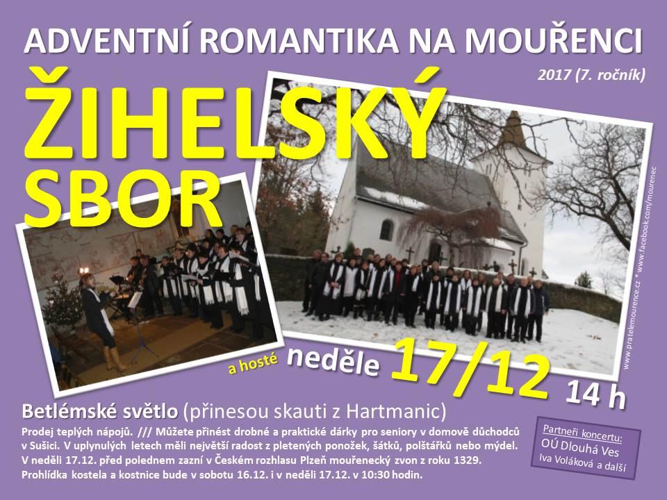 Žihelský sbor na Mouřenci - plakát 1e30dfa562
